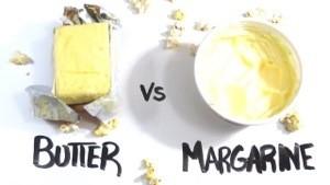 Boter vs margarine